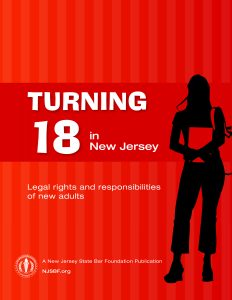 Turning 18 in New Jersey