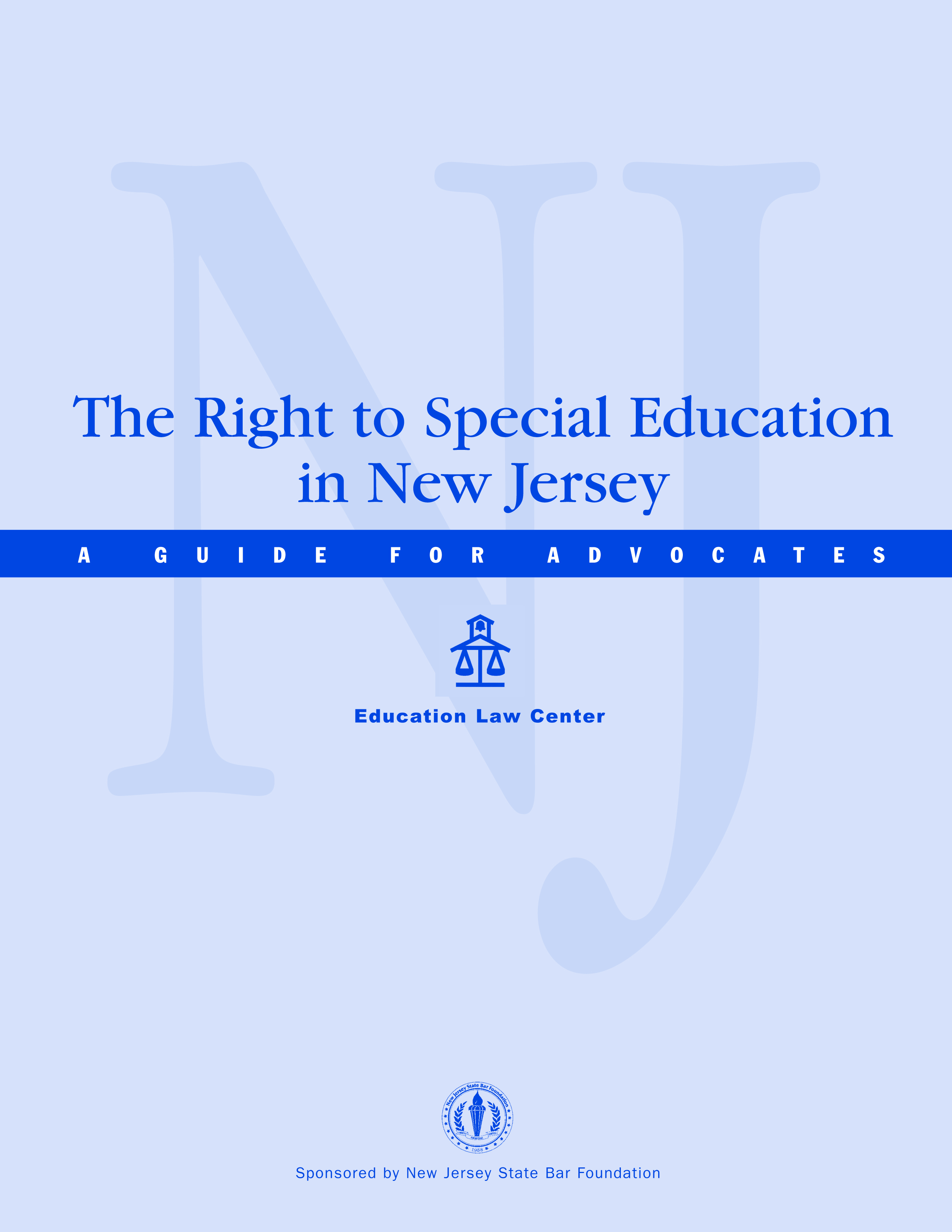The Right to Special Education in New Jersey