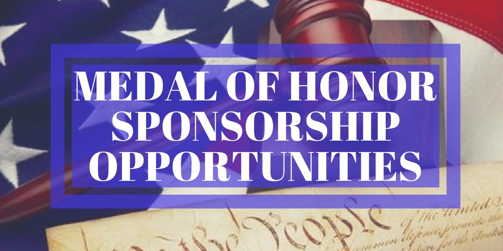 NJSBF Offers Sponsorship Opportunities for Medal of Honor Dinner