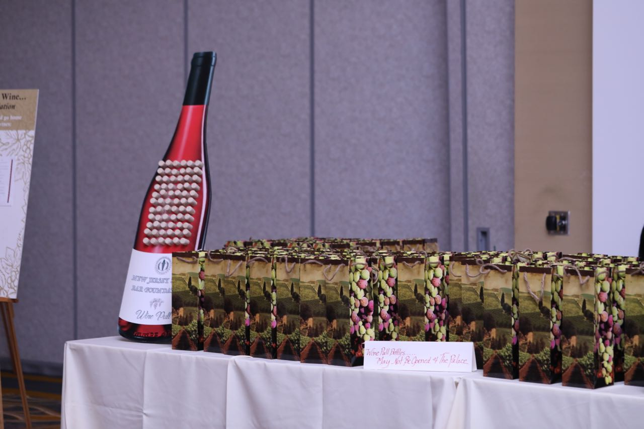 wine pull table