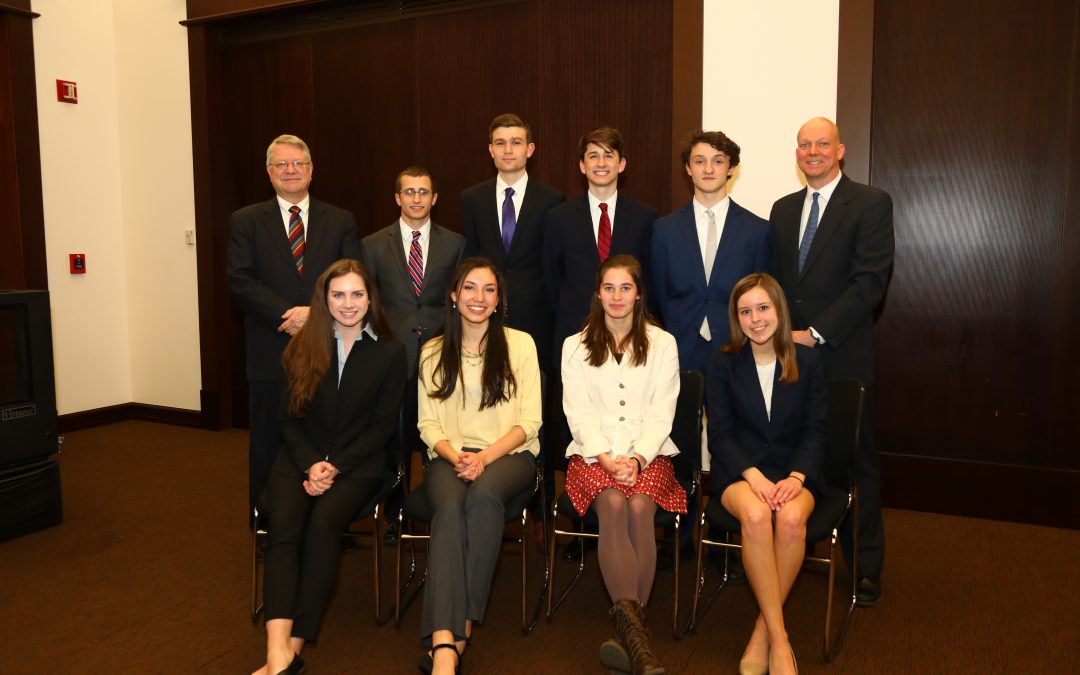 West Morris Mendham High School Takes Mock Trial Title