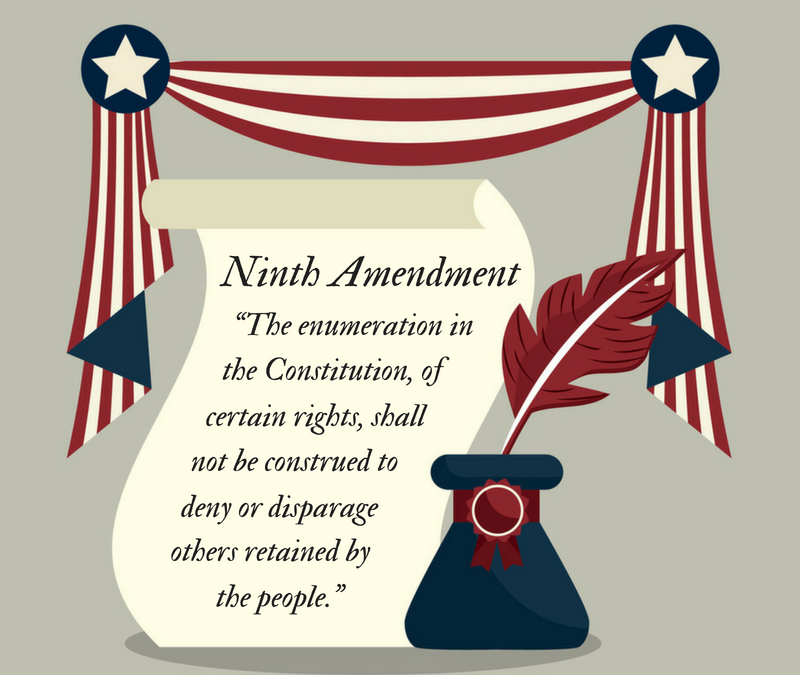 Invoking the Ninth Amendment