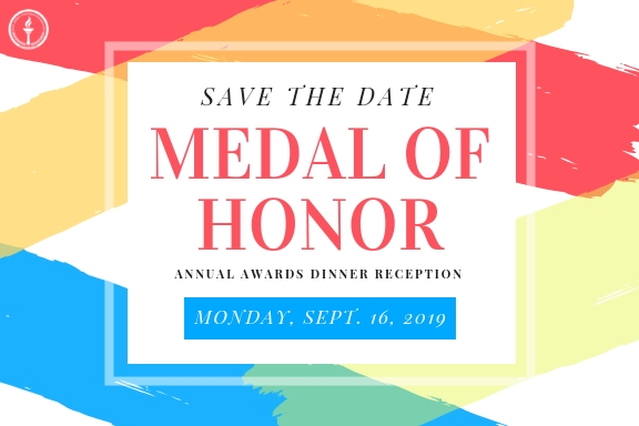 NJSBF Seeks Medal of Honor 2019 Nominations