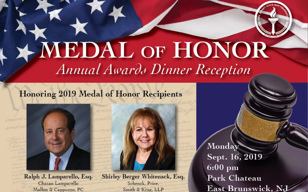 State Bar Foundation to Present Highest Honor at Awards Dinner in September