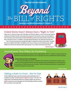 Bill of Rights Bulletin