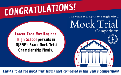 Lower Cape May Regional HS Wins First-Ever Virtual NJSBF Mock Trial Competition