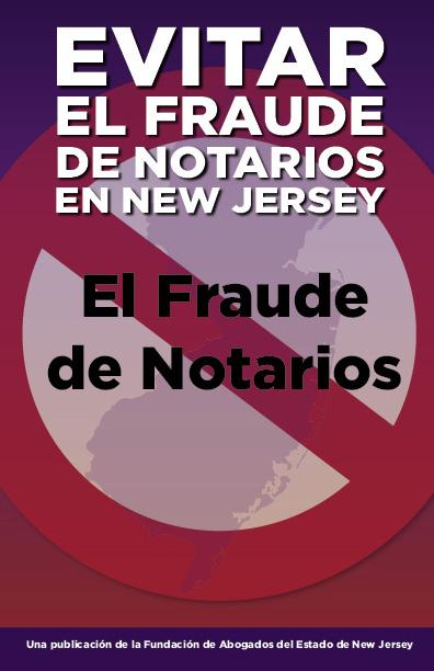 Avoiding Notario Fraud in New Jersey (Spanish)
